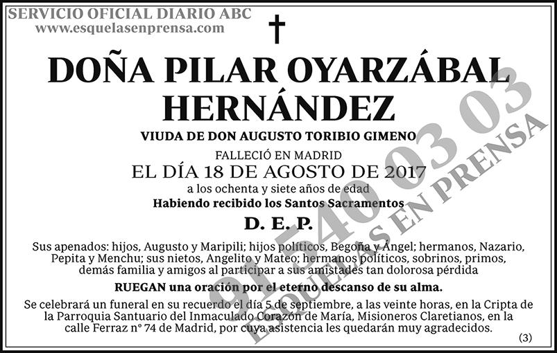 Pilar Oyarzábal Hernández